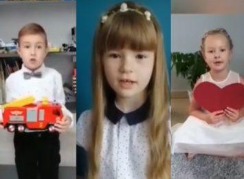 Dzieci składają życzenia z okazji Dnia Ojca! [WIDEO]