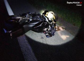 Zginął kolejny motocyklista w regionie