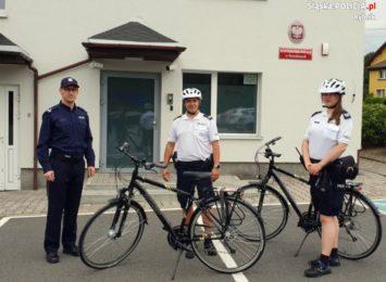 Świerklany: Policjanci mają nowe rowery