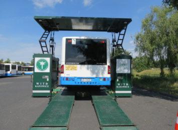 ITD kontroluje i zatrzymuje autobusy komunikacji miejskiej w Rybniku [WIDEO,FOTO]