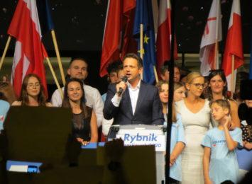 Finał kampanii wyborczej Rafała Trzaskowskiego w Rybniku [FOTO]