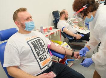 Sukces akcji krwiodawstwa. Górnicy ustanowili nowy rekord
