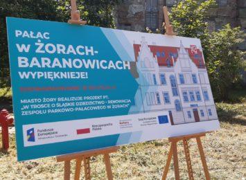 Ruszyły prace przy Pałacu w Baranowicach