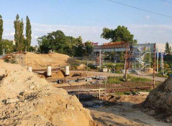 Zmiany na budowie wiaduktu na Żorskiej w Rybniku