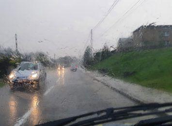 Deszcz w regionie. Kilkadziesiąt wyjazdów strażaków