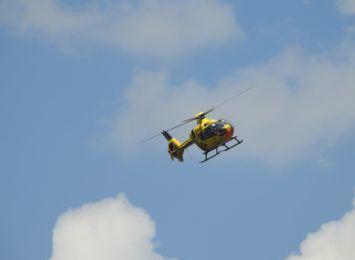 11-latek potrącony w Bukowie. Do szpitala zabrał go LPR