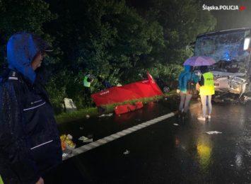 Apel gliwickiej policji w sprawie wypadku, w którym zginęło 9 osób