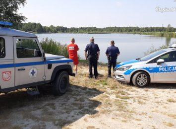 Skontrolowali dzikie kąpieliska w Kuźni Raciborskiej