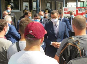 Premier dowiedział się, że wodzisławski Sanepid sobie nie radził