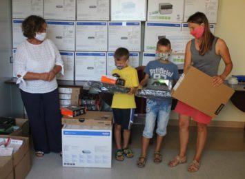 Powiat cieszyński: Ponad milion złotych na sprzęt dla dzieci z pieczy zastępczej