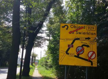 Kolejne zmiany na remontowanej drodze 929, to trasa Rybnik- Świerklany