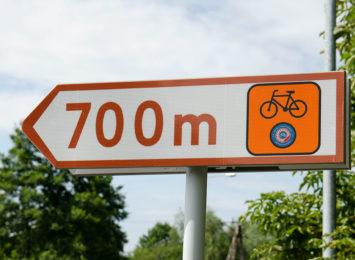 Jest nowe oznakowanie Żelaznego Szlaku Rowerowego