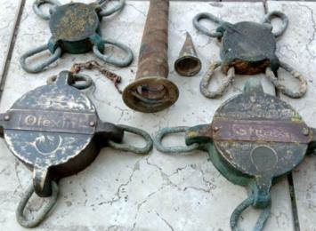 Odkrycie na rynku w Krzanowicach. Te zbiorniki pochodzą z początku XX wieku