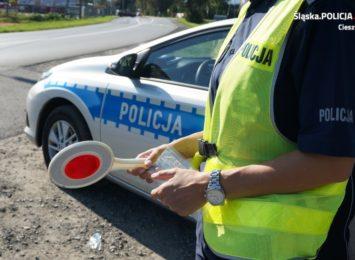 Policyjny pościg za kobietą, która nie zatrzymała się do kontroli
