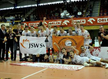 Młodzicy Akademii Talentów Jastrzębskiego Węgla Mistrzami Polski