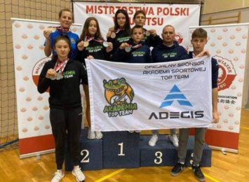 Judocy z Wodzisławia z medalami Mistrzostw Polski