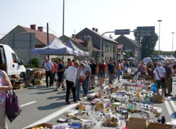 Jarmark na Granicy wraca po przerwie. Tłumy ludzi w Chałupkach [FOTO, WIDEO]