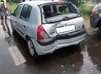 Wypadek na ulicy Małachowskiego w Rybniku. Wiemy więcej