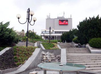 Robert Kasprzycki na Dzień Kobiet w Teatrze Ziemi Rybnickiej