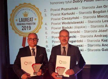 Powiaty cieszyński i wodzisławski z nagrodami