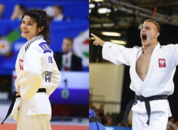 Julia Kowalczyk i Piotr Kuczera zdobywają złote medale na mistrzostwach Polski w judo. Srebro dla Zuzanny Łogożnej