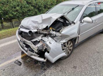 Jastrzębie: Wypadek na ul. Pszczyńskiej. Sprawca miał ponad dwa promile