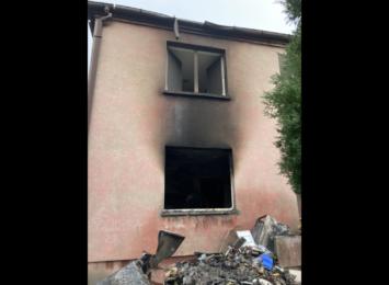 W Boguszowicach potrzebna pomoc. Spłonął dom