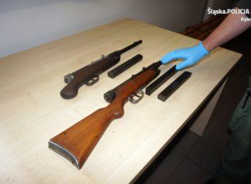 Rybnik: Dwóch zatrzymanych za posiadanie nielegalnej broni [FOTO]