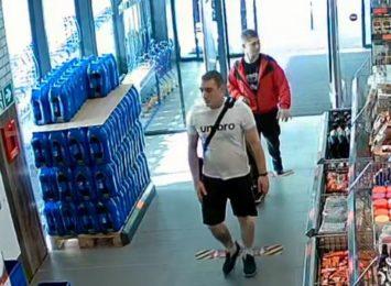 Policja poszukuje ich za kradzież hulajnogi [FOTO]