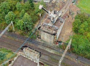 Zobacz jak idą prace na wiadukcie przy Mariackiej w Radlinie [FOTO,WIDEO]