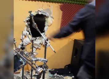 Dziura w ścianie i skradziony sprzęt. Okradziono rybnickie kapele