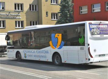 Powiat wodzisławski: Autobusy kursować będą według rozkładu jak w dni nauki szkolnej