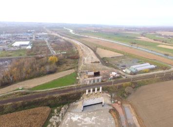 Trwa budowa raciborskiego odcinka Regionalnej Drogi Racibórz-Pszczyna [FOTO, WIDEO]