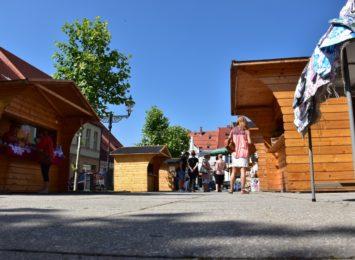 Obostrzenia nie zamknęły ekobazaru w Wodzisławiu Śląskim