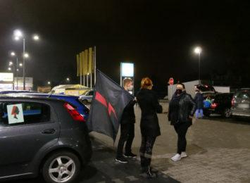 Protest kobiet: Sznur samochodów po raz kolejny przejechał z Rybnika do Wodzisławia [FOTO, LIVE]