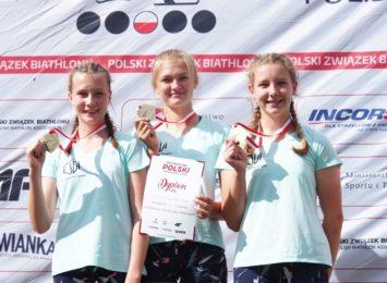 Wodzisławskie biathlonistki są najlepsze w Polsce