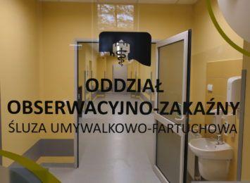 Dodatkowe 12 łóżek covidowych w Szpitalu Śląskim w Cieszynie