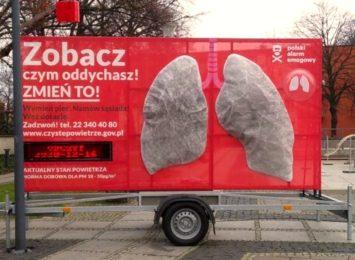Racibórz: Sztuczne płuca po kilku dniach były czarne od smogu