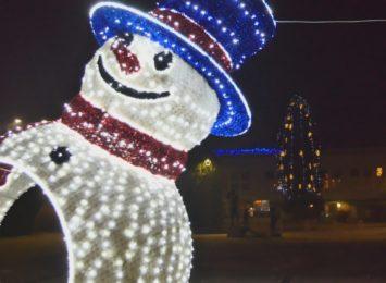 Świąteczne iluminacje dodają uroku - Radlin [WIDEO]