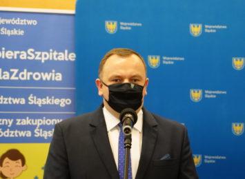 Marszałek Chełstowski o zmianie dyrektora rybnickiego szpitala