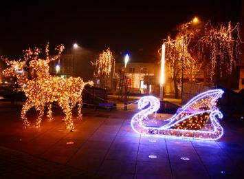 Świąteczne iluminacje dodają uroku - Pszów [WIDEO]