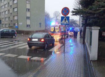Potrącenie na ulicy Skłodowskiej- Curie w Rybniku