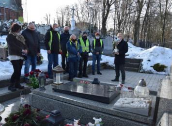 Mszana pamięta o więźniach z Auschwitz. Symbolicznie upamiętniła kolejną rocznicę tragicznego Marszu Śmierci