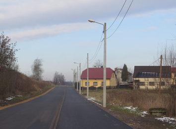 Ścieżka dla pieszych i rowerzystów w Pawłowicach