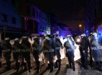 Niespokojna noc w Rybniku. Uzbrojona policja w klubie Face2Face [FOTO]