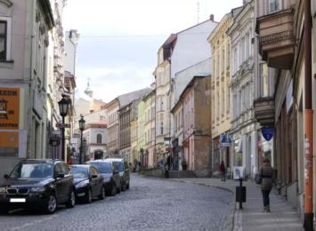 Ruszyła rozbiórka chodników na Głębokiej w Cieszynie