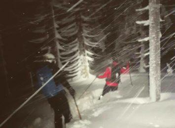 Turyści nieprzygotowani do zimy. To był ciężki weekend goprowców w Beskidach