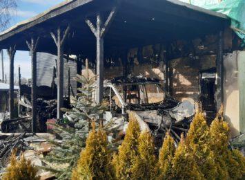 Radlin: Pożar domu przy Jaworowej. Przyczyna na razie nie została ustalona [FOTO]
