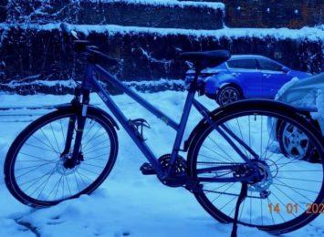 Straż Miejska w Cieszynie: Oznakować rower można także zimą