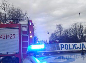 Zderzenie 4 samochodów na wiślance w Mikołowie. Jedźcie ostrożnie!